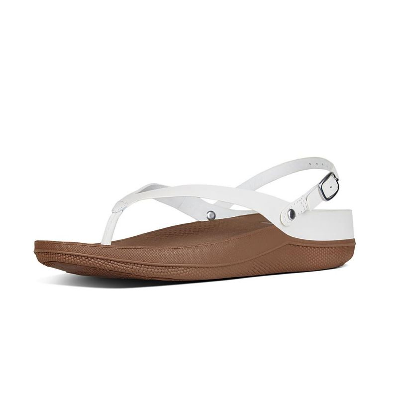 Fitflop leather sandals urban white taille 39