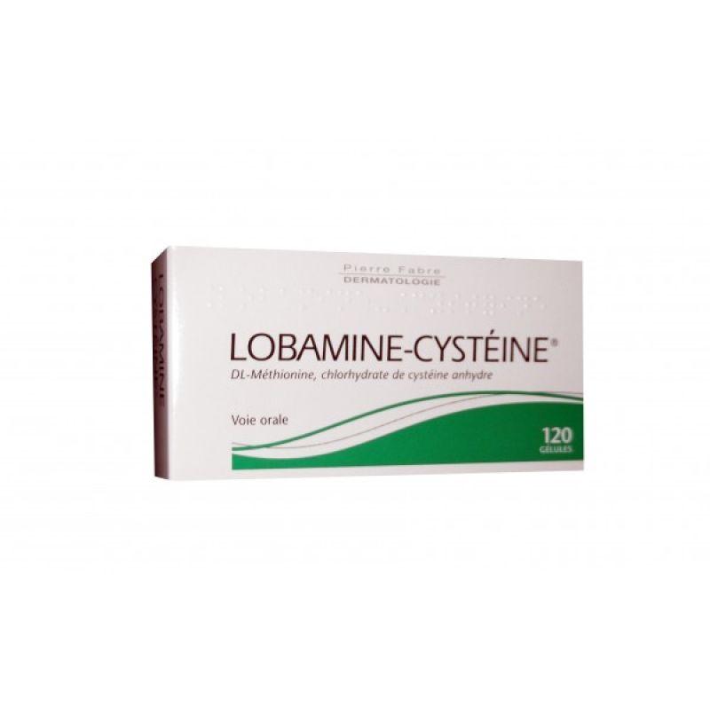 lobamine cyst ine chute des cheveux 60 g lules pharmarun. Black Bedroom Furniture Sets. Home Design Ideas