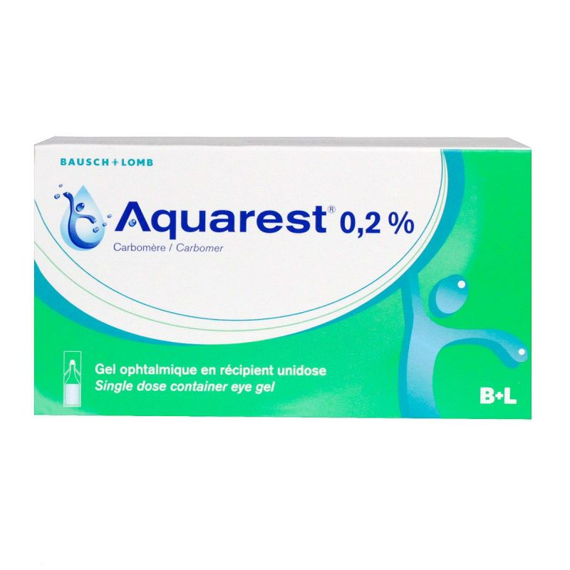 Aquarest 0,2% Gel Opht Dos 60