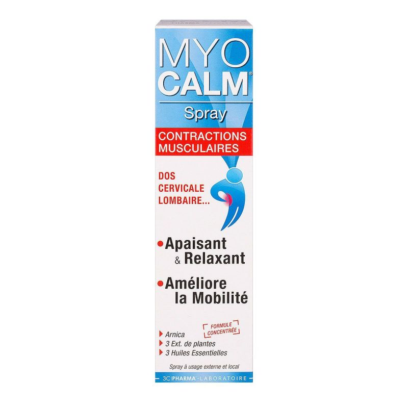 3chenes Myocalma Spray Fl 100 Ml